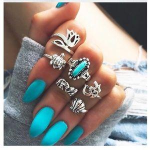 Jewelry - Boho Rings Set
